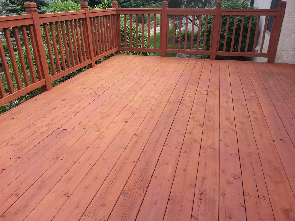 Columbus, Ohio - Deck Reconditioning 1