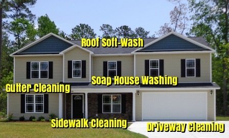 Columbus, Ohio- House Washing Service